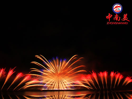 Won the 2016 annual champion Liuyang creative music fireworks contest